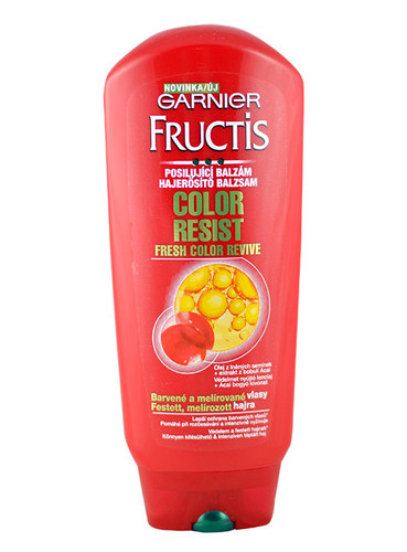 Image of Fructis Color Resist Balm For colored and streaked hair 200ml Per Donna