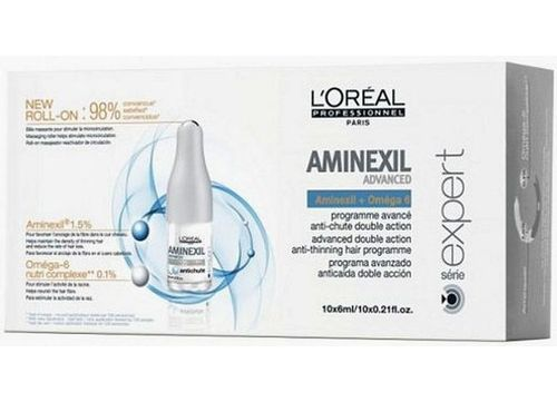 Image of Expert Aminexil Advanced 42x6ml Cure against hair loss Per Donna