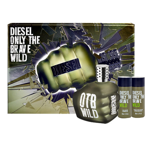Image of Only The Brave Wild 50Ml Edt 50Ml + 50Ml Shower Gel + 50Ml After Shave Balm Per Uomo