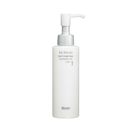 Image of Sensai Silky Purifying Cleansing Oil 150ml Per Donna