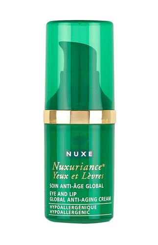 Image of Nuxuriance Eye & Lip Global Anti-Aging Cream 15Ml For Stronger Eye Surrounding Per Donna