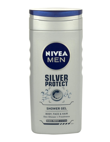 Image of Men Silver Protect Shower Gel 250Ml Shower Gel For A Body, Face And Hair Per Uomo
