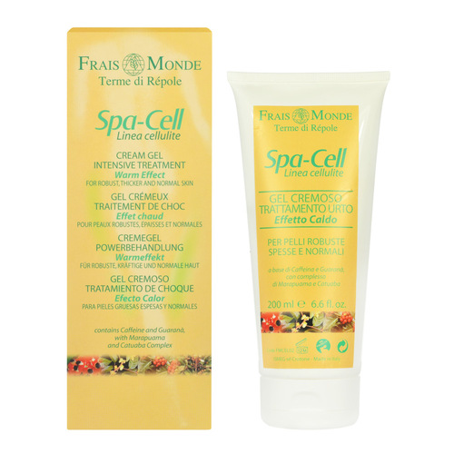 Image of Spa-Cell Linea Cellulite Cream Gel Warm Effect For normal skin 200ml Per Donna