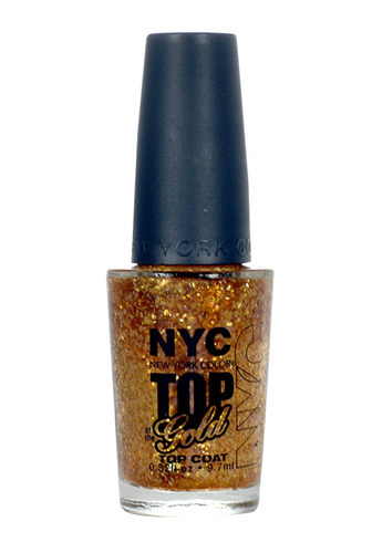 Image of Nail Polish Top Coat 010 Top of the Gold 9,7ml Per Donna